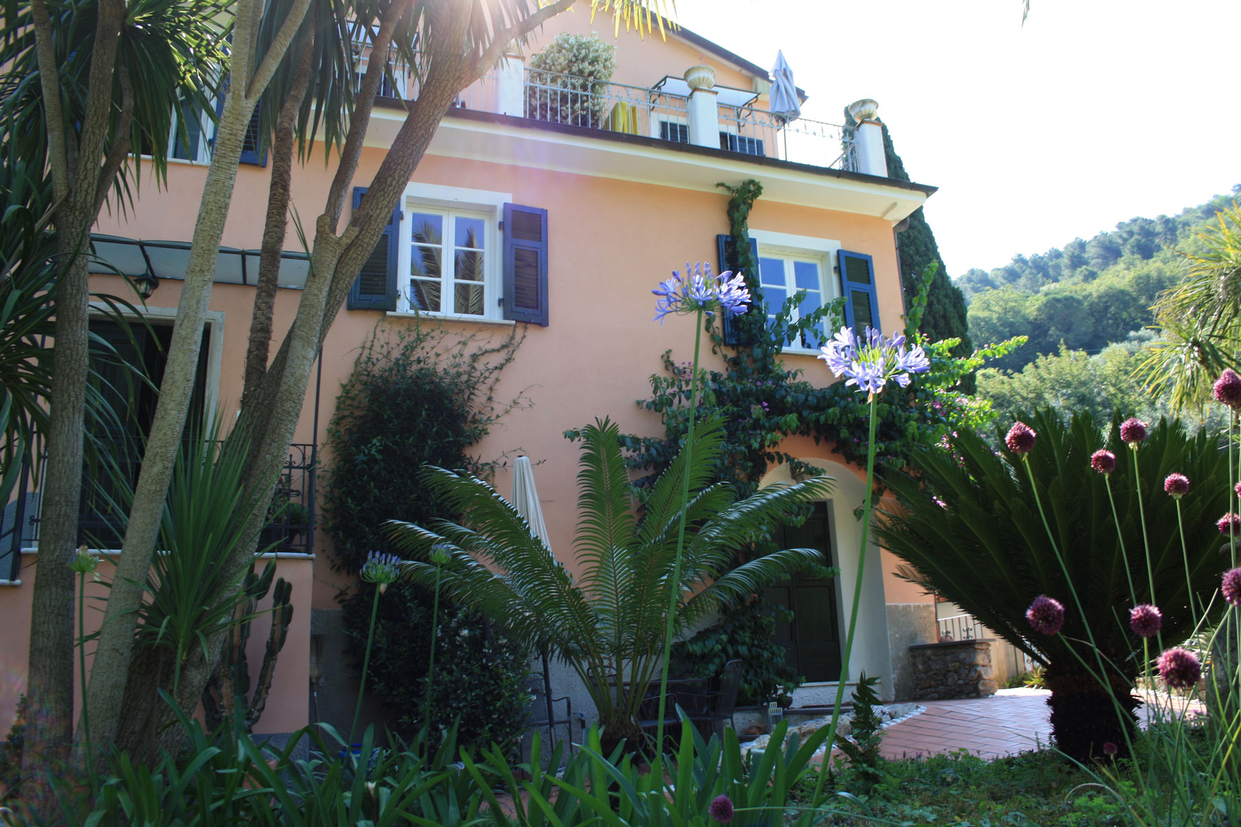 Botanic Garden La Musa - Lerici - Italy - rooms and apartments