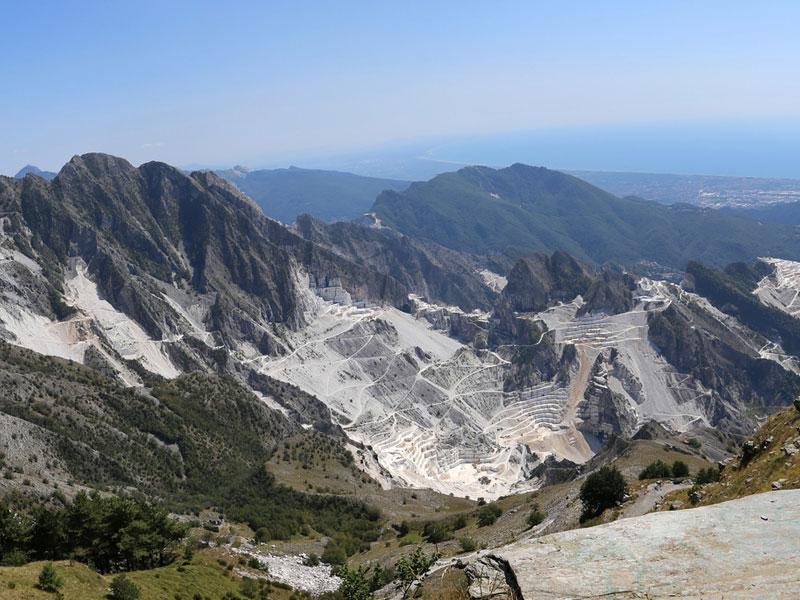 Cave - Carrara - La Musa Guest House - Lerici - Italy