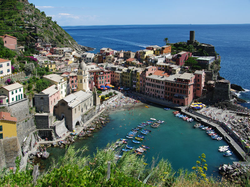 Cinque terre Vernazza - La Musa Guest House - Lerici - Italy